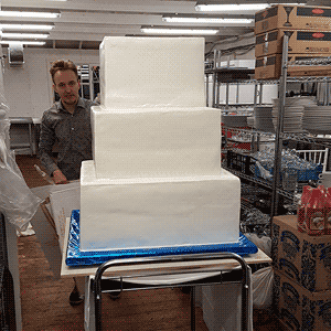 Mapping on the wedding cake